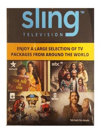 SLINGTV INTERNATIONAL PROMO CARD