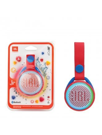 JBL JR POP Kids Portable Bluetooth Speaker - Apple Red