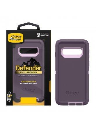 OtterBox Samsung Galaxy S10 Defender Series Screenless Edition Case - Purple Nebula