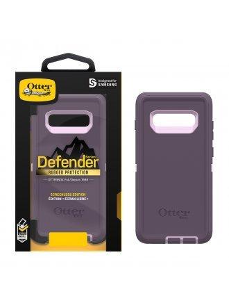 OtterBox Samsung Galaxy S10+ Defender Series Screenless Edition Case - Purple Nebula
