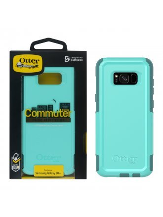 OtterBox Samsung Galaxy S8+ Commuter Series Case - Aqua Mint Way
