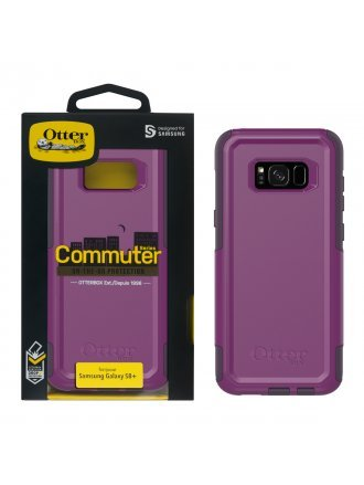 OtterBox Samsung Galaxy S8+ Commuter Series Case - Plum Way