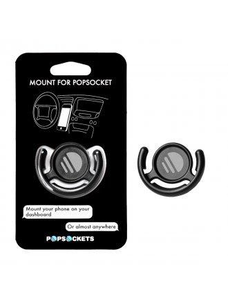 PopSockets Multi-Surface Mount - Black