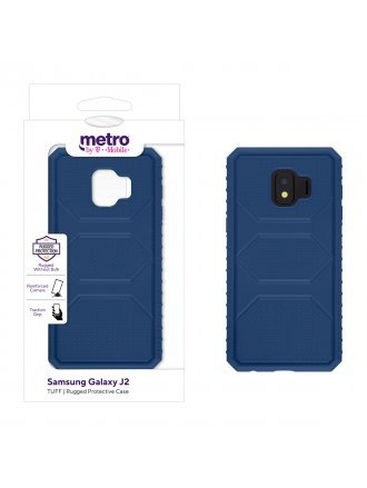 Metro by T-Mobile Samsung Galaxy J2 TUFF Rugged Protective Case – Blue