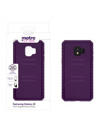 Metro by T-Mobile Samsung Galaxy J2 TUFF Rugged Protective Case – Purple