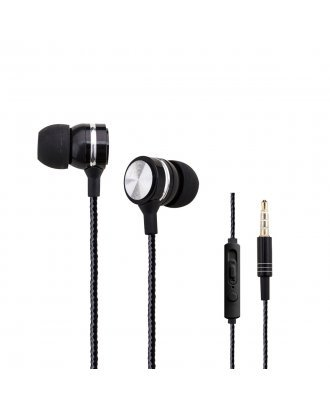WOOZIK A960 HEADPHONE WITH MIC/VOL BLACK