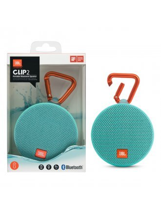 JBL CLIP 2 Portable Bluetooth Speaker - Teal
