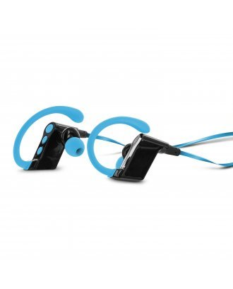 Aduro Amplify SBN80 Wireless In Ear Bluetooth Stereo Headset  Built In Mic blue