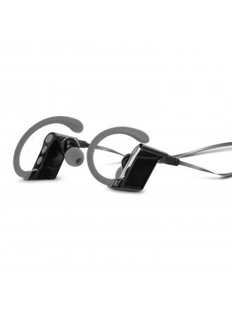 Aduro Amplify SBN80 Wireless In Ear Bluetooth Stereo Headset  Built In Mic (Grey)