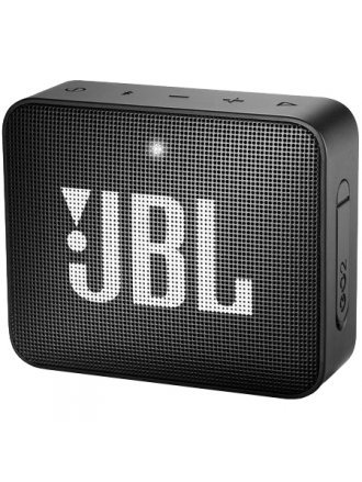 JBL Go 2 Waterproof Bluetooth Speaker Midnight Black
