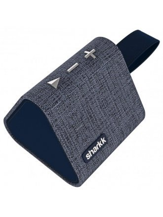 SHARKK WATSON 5W BLUTOOTH DENIM SPEAKER BLU