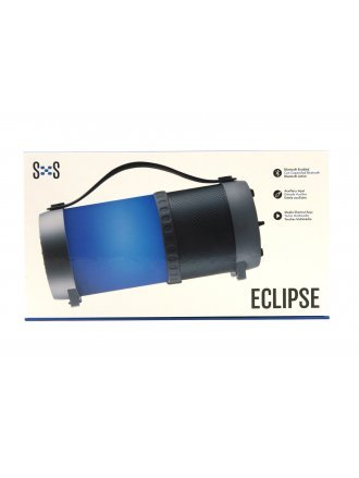 BLUETOOTH MEDIA SPEAKER W/LED LANTERN FUNCTION - ECLIPSE