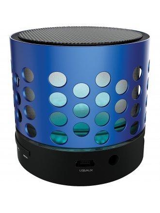 Coby Bluetooth Speaker, Blue