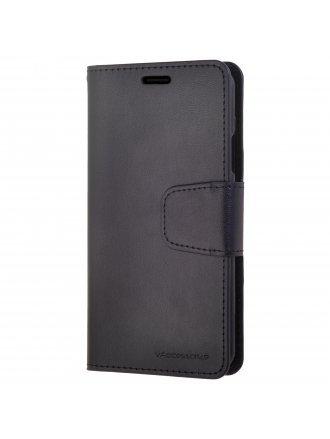 LG G7 Power Czerny Wallet Case Black Black