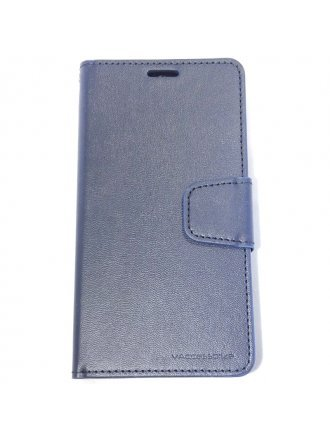 LG K51 Wallet Case Blue Black
