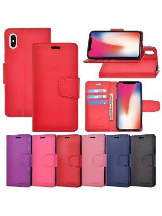LG G7 Power Czerny Wallet Case Rose Black
