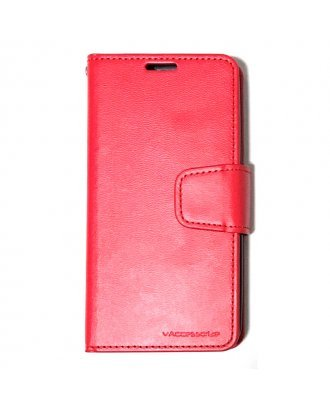 """IPHONE XS MAX 6.5"""" CZERNY WALLET RED BLACK"""