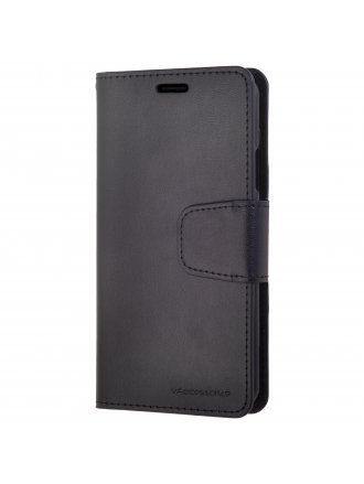 LG K51 Wallet Case Black Black