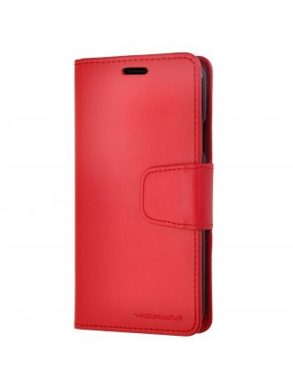 LG K51 Wallet Case Red Black