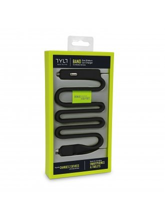 TYLT RIBBON 5.4A C TYPE CAR CHARGER