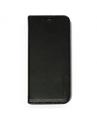 """iPhone XR 6.1"""" Folio Premium Leather Case Black"""