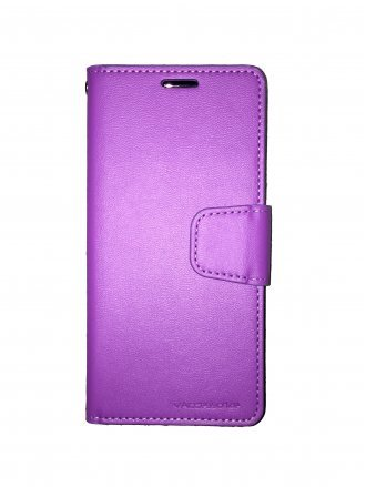 MOTO E4(USA) CZERNY WALLET Purple Black