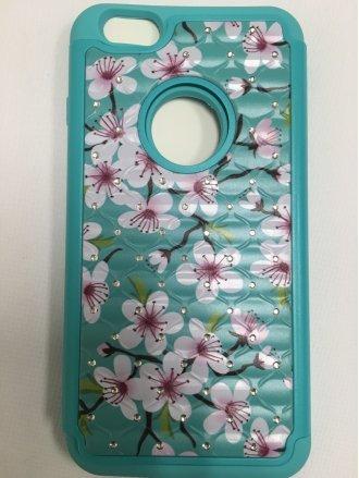 iPhone 6 Plus PRINTING DIAMOND CASE  BABY TEALBABY TEAL