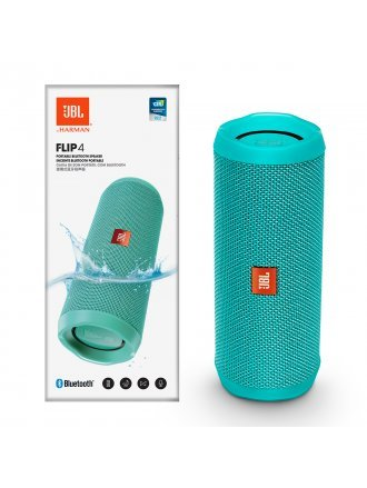 JBL FLIP4 Waterproof Portable Bluetooth Speaker - Teal