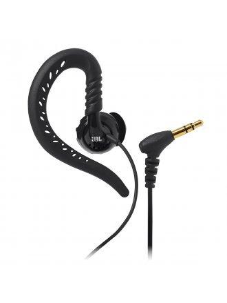 JBL Focus 100 Behind-The-Ear Wired Sport Headphones - Black