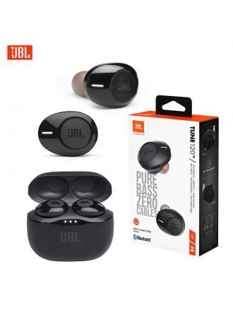 JBL Tune 120 True Wireless In-Ear Headphones in Black