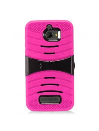 LG stylus 2 plus kickstand Pink Black