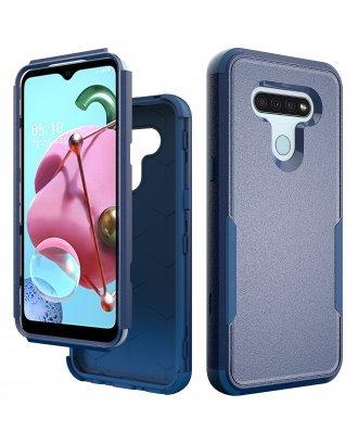 Motorola Moto E7 Commander Case Blue Navy