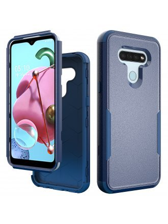 Motorola Moto E7 Commander Case Blue Navy