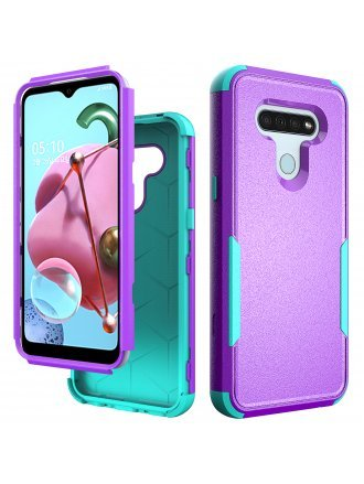 Lg K51 / Q51 Commander Case Purple Teal