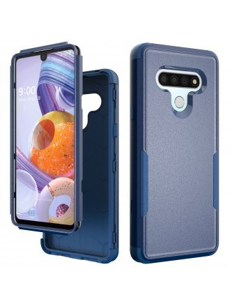 Lg Stylo 6 Commander Case Navy Blue