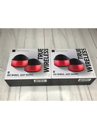 Hype TW Twin Speakers True Wireless No Cables Pairable Bass Boosting Bluetooth