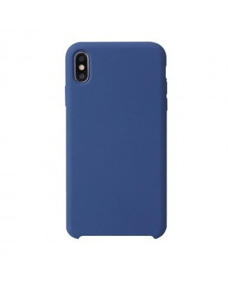 """Apple iPhone XR 6.1"""" Silicon Case Cover #Blue"""