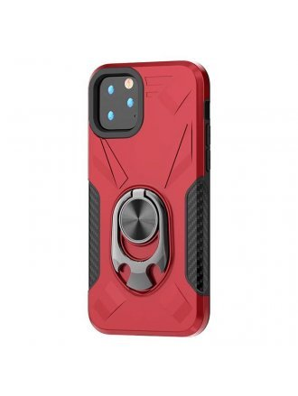Apple iPhone 11 5.8 Ring Case Red Black