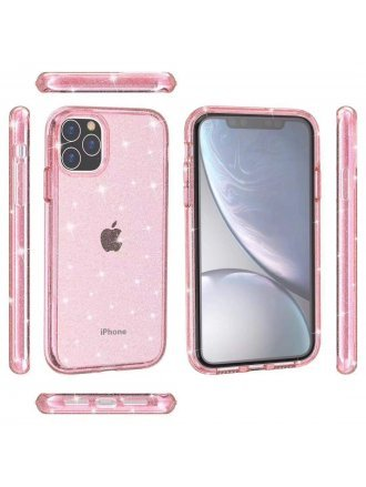 Apple iPhone 11 Pro Max 6.5 Case Bling Pink