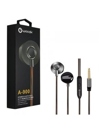 WOOZIK A 900 STEREO EARPHONE WITH REMOTE AND MIC