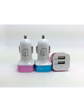 key 3.4 Amp car charger with additional usb port for iphone