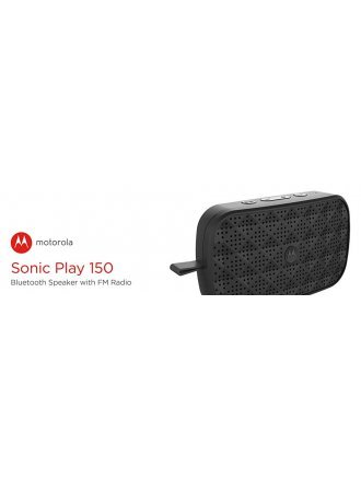 MOTOROLA SONIC PLAY 150 BLUTOOTH SPEAKER WITH FM RADIO