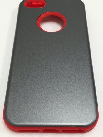 iPhone 5/5S/SE  ARMOR CASE gray red
