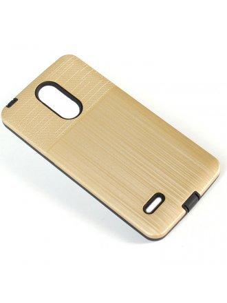 Aristo 4 Plus Cover Plus Combo Case Brushed Metal Finish Gold Black