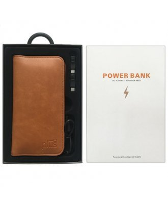 Power Bank with Large Wallet Case