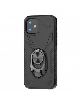 Samsung Galaxy A10E Kickstand Ring Case Black Black