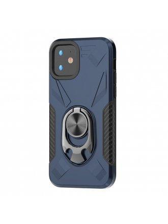 Apple iPhone 11 6.1 Ring Case Blue Black