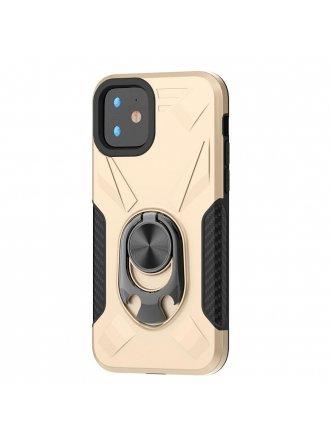 Apple iPhone 11 6.1 Ring Case Gold Black