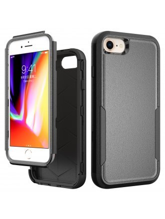 Apple iPhone 6 / 7 / 8 / SE2 / SE 2020 Commander Case Black Black