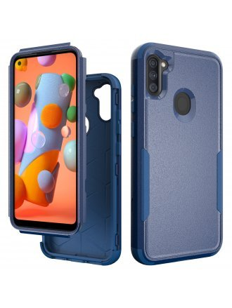 Samsung Galaxy A21 Commander Case Blue Navy